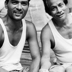 Men wearing tank top