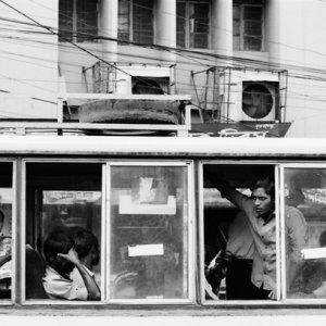 Windows of bus