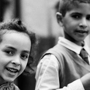 カサブランカの男の子と女の子