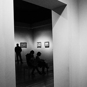 絵画のある部屋