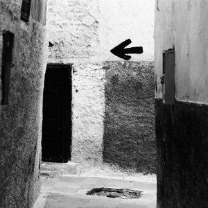 Arrow in old quarter