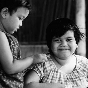満面の笑みを浮かべた女の子