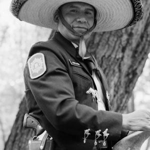 Tourist police with sombrero