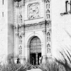 オアハカにあるサントドミンゴ教会