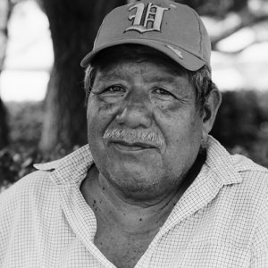 Old man wearing cap