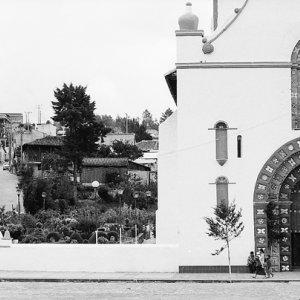 サンフアン教会の正面