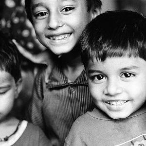 満面の笑みを浮かべた子どもたち