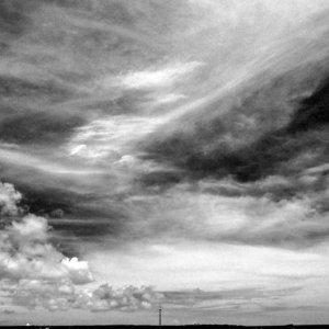 Look of sky in isle of Miyako