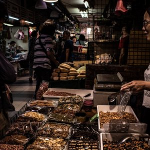 Shop selling nuts