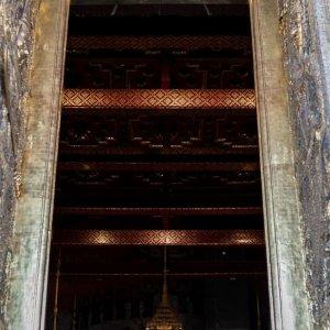 Emerald Buddha in Wat Phra Kaew
