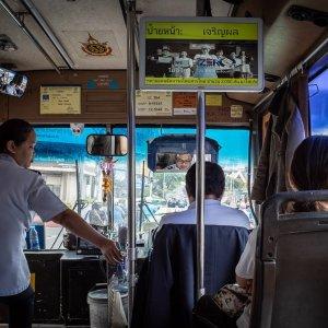 バンコクのローカルバス