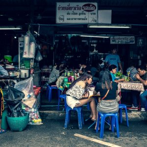 Eating place in Chatuchak Market
