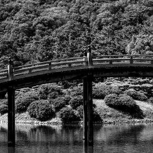 栗林公園の偃月橋