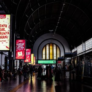 Interior of Jakarta Kota Station