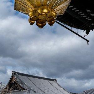 Amida Hall and a golden lantern