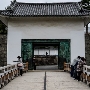 二条城の本丸櫓門