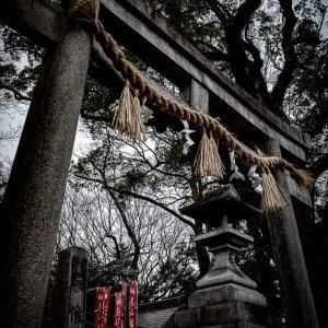 京都御苑にある宗像神社