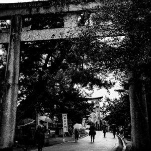 北野天満宮の参道