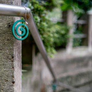 Mosquito coils at Tsumagoi Shrine