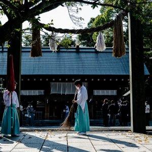 Torii Gate of Iseyama Kotaijingu Shrine