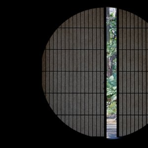 旧朝倉家住宅の円窓