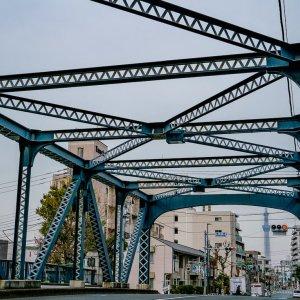 Kamehisa Bridge and Tokyo Skytree
