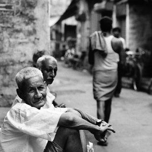 路地の老人たち