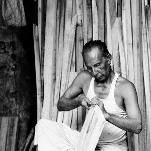 Man doing carpentary