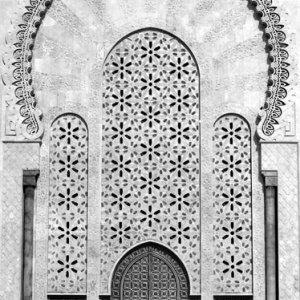 ハッサン2世モスクの玄関