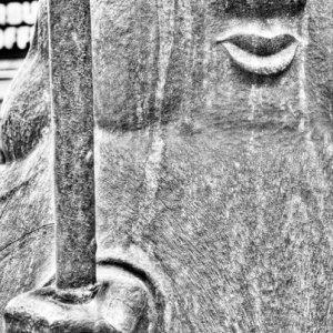 Sculpture of Jurojin