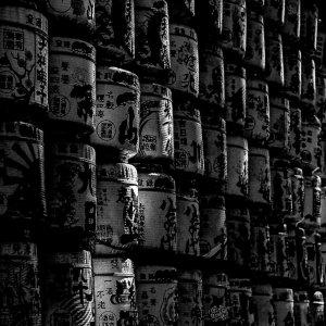 明治神宮に奉納された御神酒の酒樽