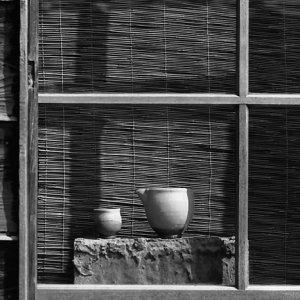 Vessels by window