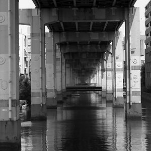 waterway under highway