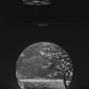 明月院の円い窓