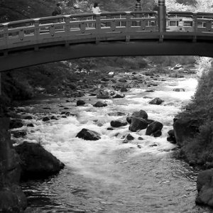 Shinkyo bridge in Nikko