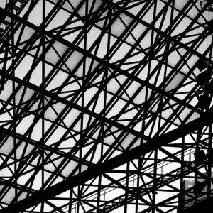 Tangled steel framework
