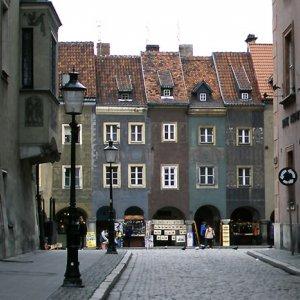 cityscape in Poznan