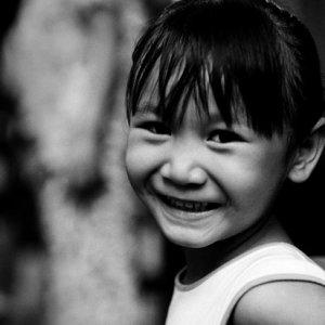 微笑み返してくれた女の子