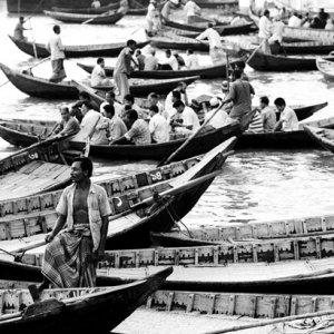 Ferryboats on Buriganga river