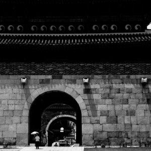 水原華城の長安門