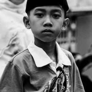 Boy wearing Sogkok