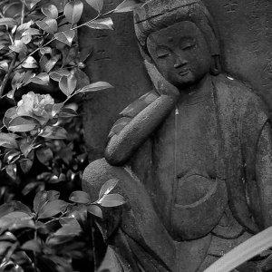 relaxing jizo