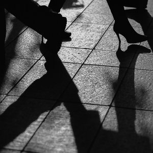 Silhouettes of heels