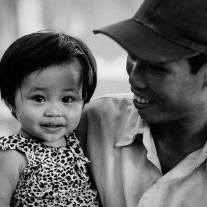 Cute smiled of little girl