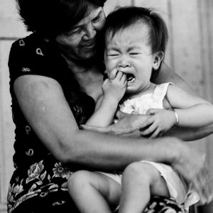 Baby crying and screaming