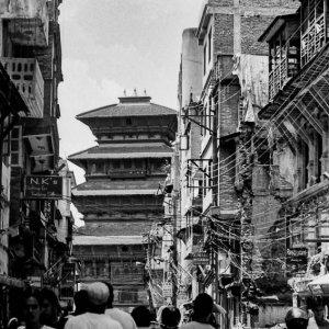Basantapur Tower in Kathmandu