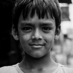 自信に満ちた瞳の男の子