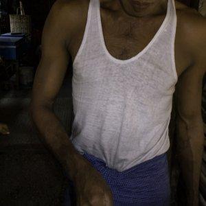 Man making kun