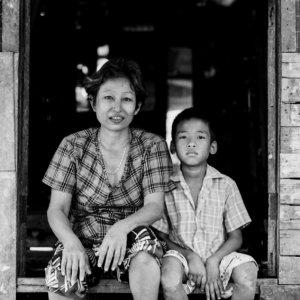 お母さんと息子