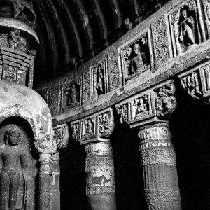 アジャンターの石窟寺院